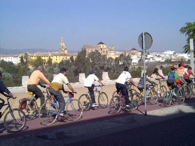 Bicicletada contra el cambio climático
