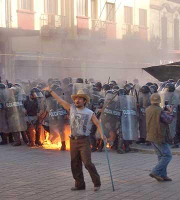 Oaxaca insurgente.
